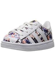 adidas Originals Boys\' Superstar I Sneaker, Haze Coral White...