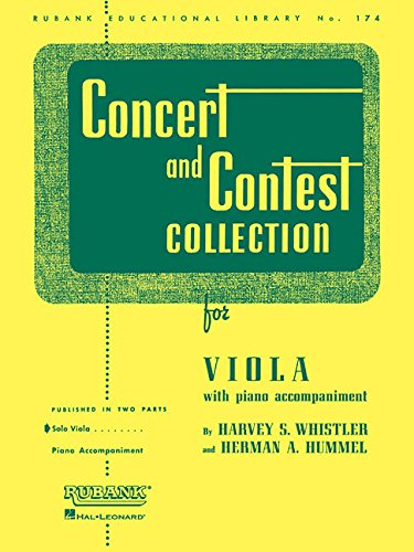 Concert and Contest Collection for Viola: Solo Book Only