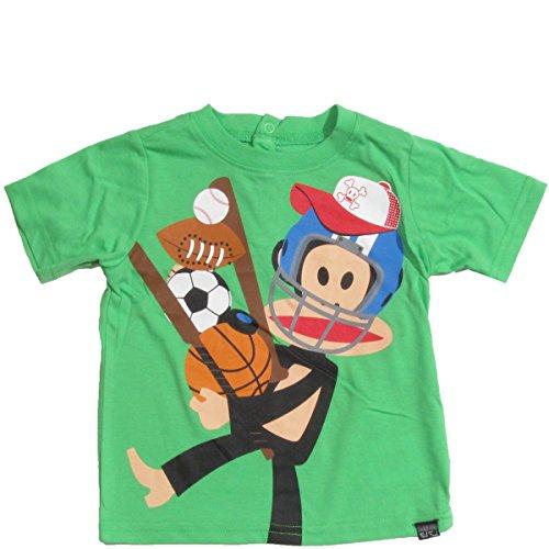 Paul Frank Baby Boys' Sports T-Shirt, Grass Green, 18 Months -