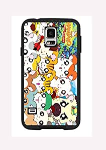 Case Cover Design Hamtaro Cartoon HM03 for Samsung S3 mini Border Rubber Hard Plastic Case Black@pattayamart