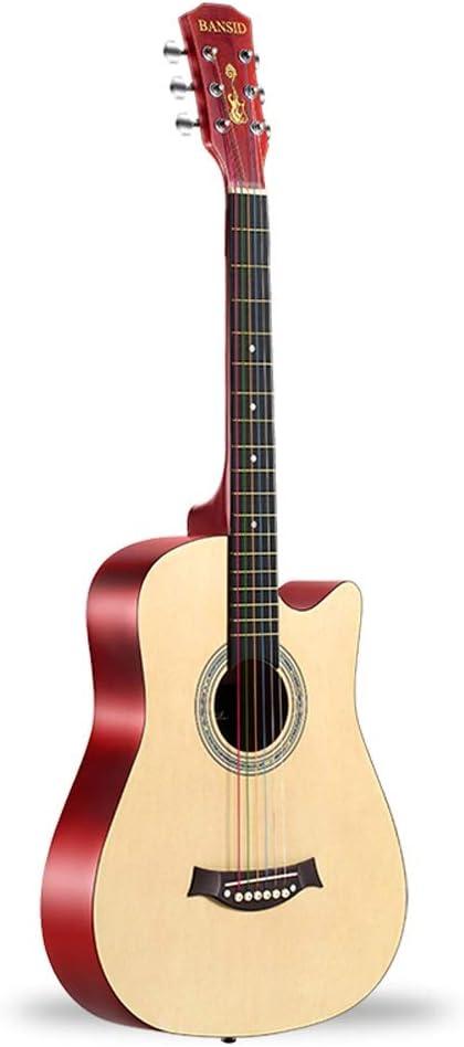 Miiliedy Guitarra acústica de 38 pulgadas Principiantes la mejor ...