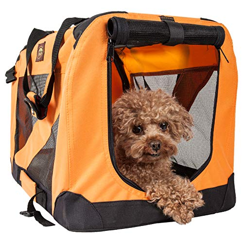 PET LIFE '360° Vista View' Zippered Soft Folding