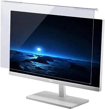 WLWLEO Película Protectora de Pantalla de computadora Filtro de Pantalla antideslumbrante contra luz Azul Protector de Pantalla para Monitor portátil de 17