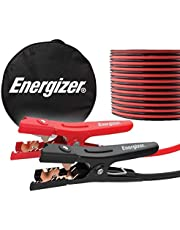 Energizer Jumper Cables for Car Battery, Heavy Duty Automotive Booster Cables for Jump Starting Dead or Weak Batteries with Carrying Bag Included (20-Feet (4-Gauge)