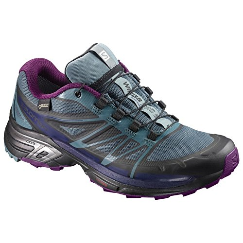 82d3a9be Salomon Women's Wings Pro 2 GTX W Running Shoes, Blue (North ...