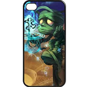 Custom personalized Protective Case for iPhone 4/4s - Game League of Legends LOL Amumu by mcsharks