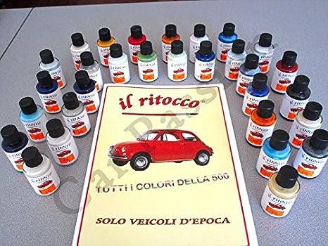 Colori Vernici Auto : 1 vernice ritocco smalto fiat 500 cinquecento depoca 30ml colori