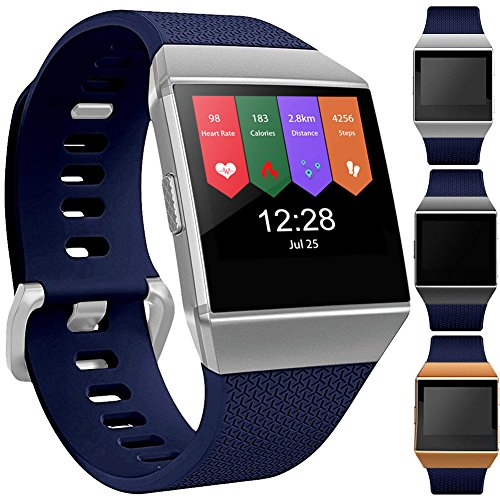 GEAK for Fitbit Ionic Bands, Large Navy Blue
