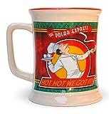 Polar Express Coffee Hot Chocolate Cup Mug Green Red 3d Design 10th Anniversary