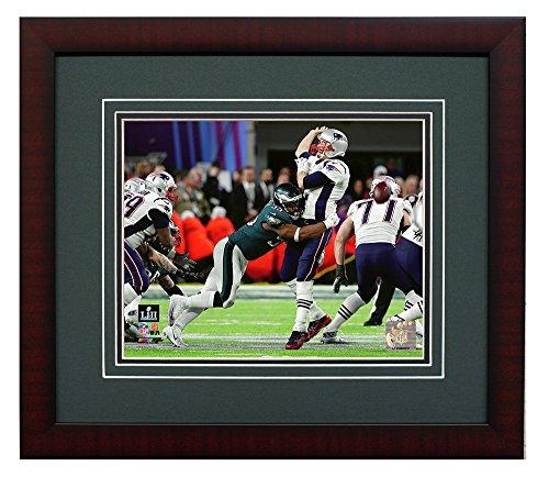 Philadelphia Eagles Brandon Graham Strips The Ball During Super Bowl 52 8x10 Framed Photo, Picture