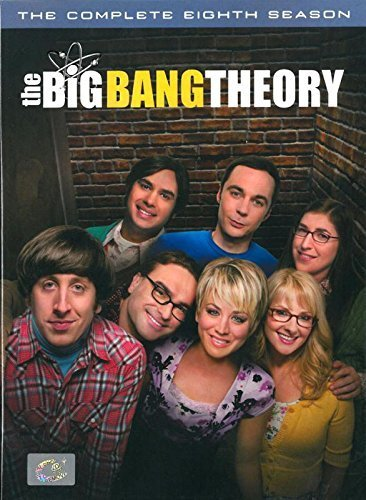 Big Bang Theory The Complete 8th Season (DVD Region 3) Eighth Season Series Comedy (3 Discs)