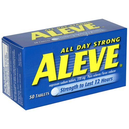 Aleve Tablets, 50 ct