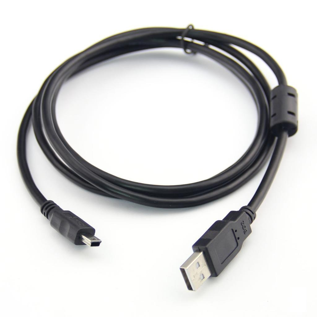 USB cable for CANON POWERSHOT ELPH IXUS 140 IS