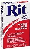 Arts & Crafts : Rit All-Purpose Powder Dye, Scarlet