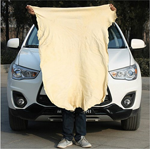 Sheepskin Window - 65cm Natural Sheepskin Microfiber Chamois Cloth,wash Mitts Microfiber Car Cleaning Microfiber Suede Cloth Shammy Cloth