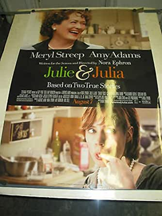 JULIE AND JULIA / ORIG. U.S. ONE-SHEET MOVIE POSTER (MERYL ...