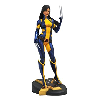 DIAMOND SELECT TOYS Diamond Select Marvel Gallery PVC Statue X-23 Unmasked SDCC 2020 23 cm: Toys & Games