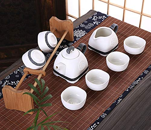 BeesClover 8 Pieces Pot Snowflake Tea Show One Size by BeesClover