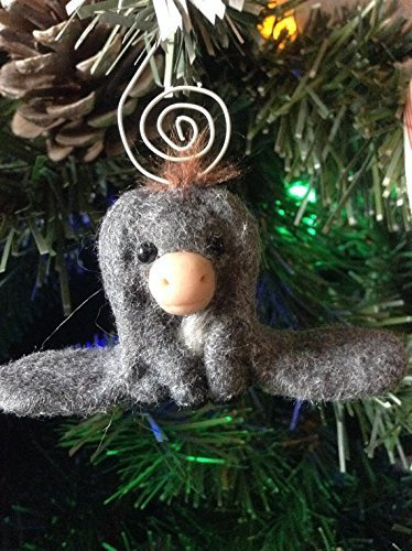hand made long eared christmas donkey tree ornament by aaron matthies nestor inspired - Nestor The Long Eared Christmas Donkey
