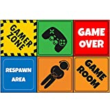 """18 Video Game 12"""" Mini Posters, Video Game Party Decorations, Gaming Party Supplies, Room Decorations, Party Signs"""