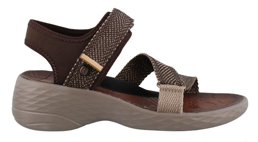BZees Women's Jive Sport Sandal B071WMVDB6 10 B(M) US|Brown