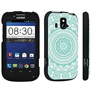 DuroCase ? ZTE Overture Z995 Hard Case Black - (Tribal Medallion Mint)