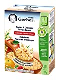 Gerber Apples & Oranges 5 Grain Cereal, Complete, Stage 4, 227g box (6 pack)
