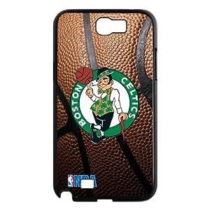 Custom Boston Celtics Hard Back Cover Case for Samsung Galaxy Note 2 NT1049 by runtopwell