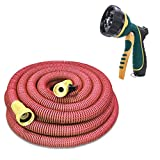 Best garden hose that don t kink - N-Green Expandable Garden Hose - 25/50/75/100 Feet Strongest Review