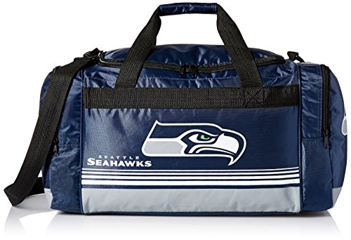 FOCO Seattle Seahawks Medium Striped Core Duffle Bag by FOCO