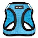 Voyager All Weather No Pull Step-in Mesh Dog Harness with Padded Vest, Best Pet Supplies, Large, Baby Blue Base