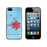 MSD Premium Apple iPhone 5 iphone 5S Aluminum Backplate Bumper Snap Case Image ID 24961489 Toy red windmill and sea shell abstract over wooden blue background