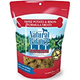 Natural Balance L.I.T. Limited Ingredient Dog Treats, Grain Free, Sweet Potato & Bison Formula, 14-Ounce
