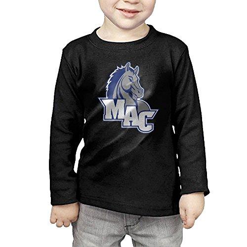 Mount Aloysius College Victory Kids Boys'&Girls' Crew Neck Cotton Long Sleeve T-shirt Tee