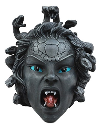 Ebros Greek Mythology Gorgon's Curse Severed Medusa Head Statue 6.25