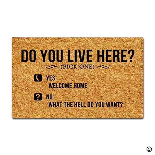 Live Here Door Mat - 7