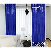 2FTx7FT-Sequin Backdrop-Royal Blue Sequin Backdrops Curtain Sequin Backdrop Photography Sparkly Backdrop Photo Booth Curtain For Your House Decoration