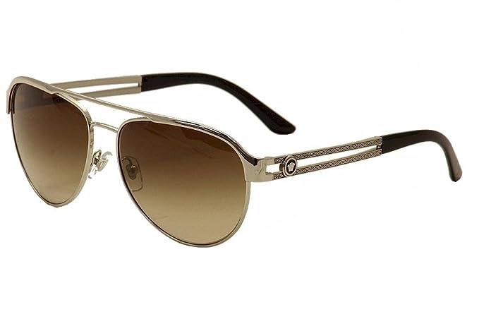 Versace VE2165 gafas de sol, Plateado (Silver 100013), única ...