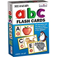 Creative Educational Aids 0504 See and Learn Alphabet (Flash Cards)