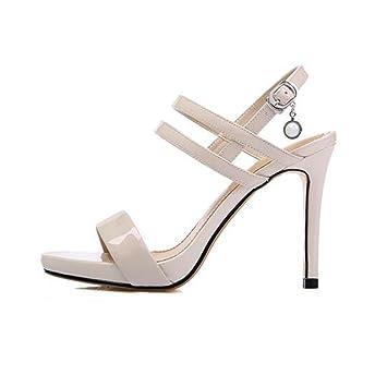 Los Nueva Sandalias Estados Muma Unidos Zapatos Europa Y Tacón De xqfnwSYF