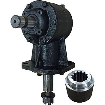 Amazon Com Omni Gear 40hp Shear Bolt Gearbox Industrial