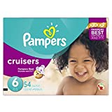 Pampers Cruisers Diapers Size-6 Super Pack, 54-Count- Packaging May Vary