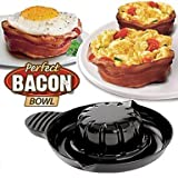 Perfect Bacon Bowl Set of 2 Cooking Baking Molds