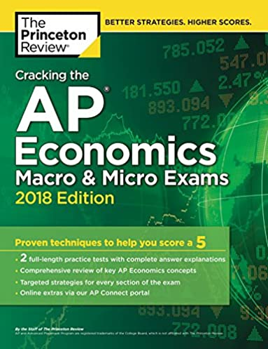 amazon com cracking the ap economics macro micro exams 2018 rh amazon com ap macro exam study guide ap macroeconomics final exam study guide