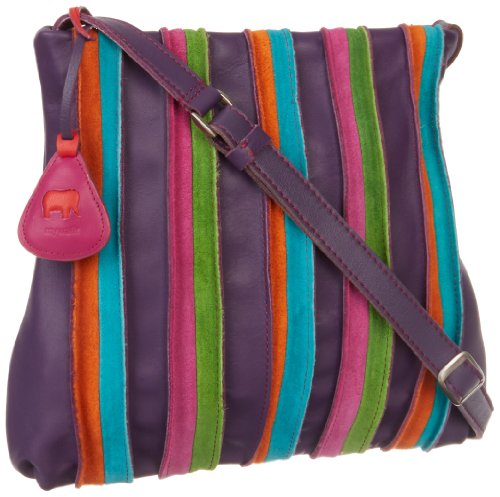 MyWalit 606-29 Cross Body,Purple,One Size, Bags Central