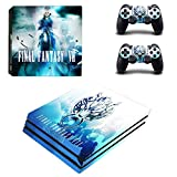 Final Fantasy VII Stylish Design Vinyl Decal for Sony PS4 PRO
