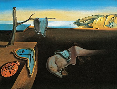 (Persistence of Memory by Salvador Dali - Art Print / Poster 11x14 inches)