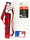 Los Angeles Angels Lanyard with Ticket Holder and Logo Pin
