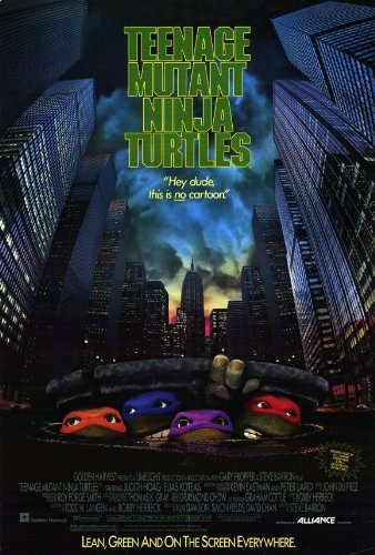 Teenage Mutant Ninja Turtles: The Movie Poster Movie 1989