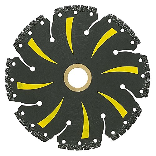 MK Diamond 4-1/2 in. x 8 Tooth General Purpose Demolition with Vacuum-Brazed Core Circular Saw Blade